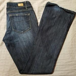 Paige Laurel Canyon Low Rise Bootcut Jeans
